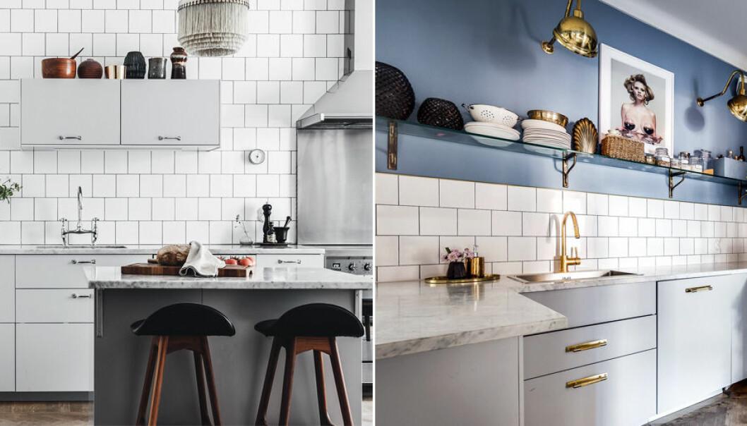 Här är olika stilar för köket.