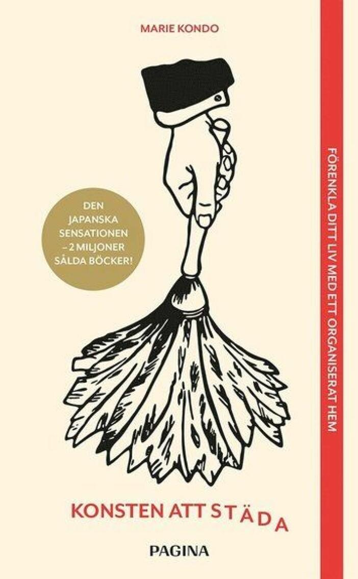 Konsten att städa av Marie Kondo bok