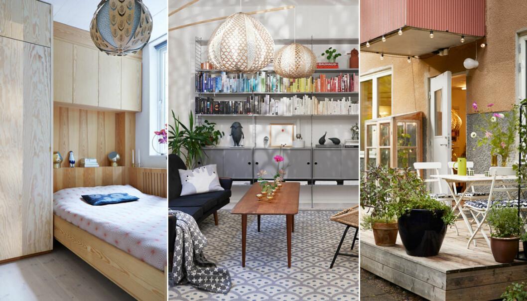 Konstnärlig lägenhet av tom lokal – hemma hos-reportage ELLE Decoration