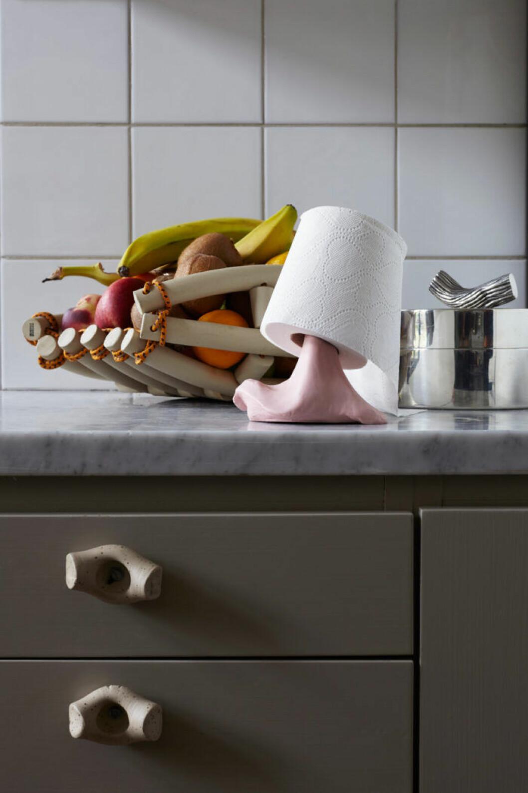 Gråmålade köksskåp från Alcro Designers