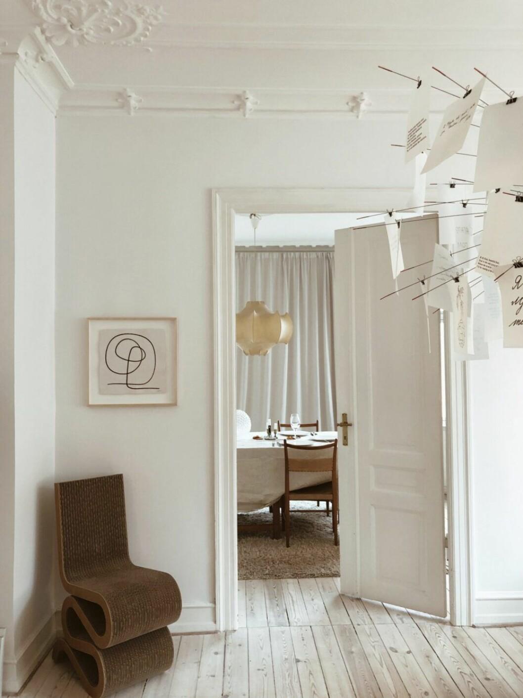 Hemma hos Ellen Dixdotter i Köpenhamn
