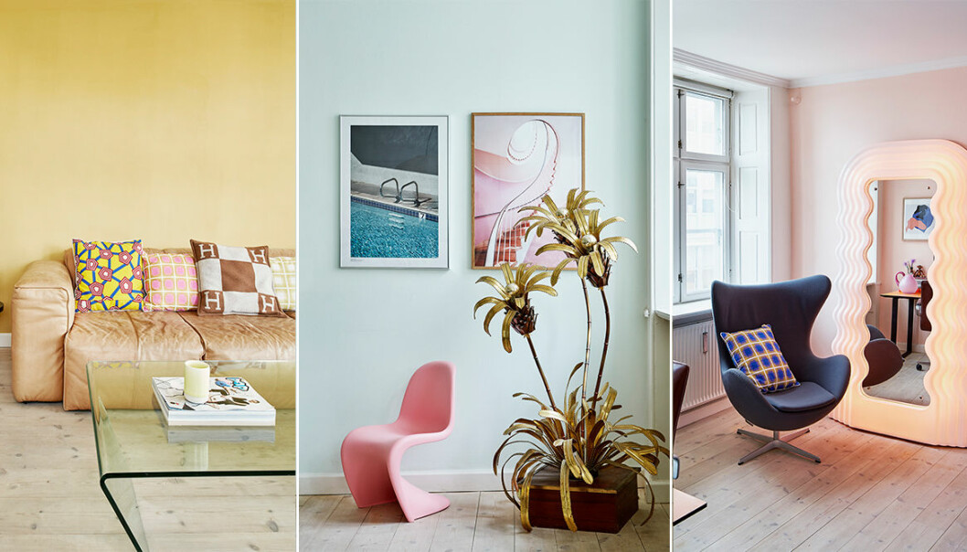 Drömmiga pasteller och vacker färgskala hos influencern Marie Jedig
