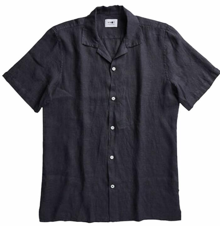 linneskjorta korta ärmar herr