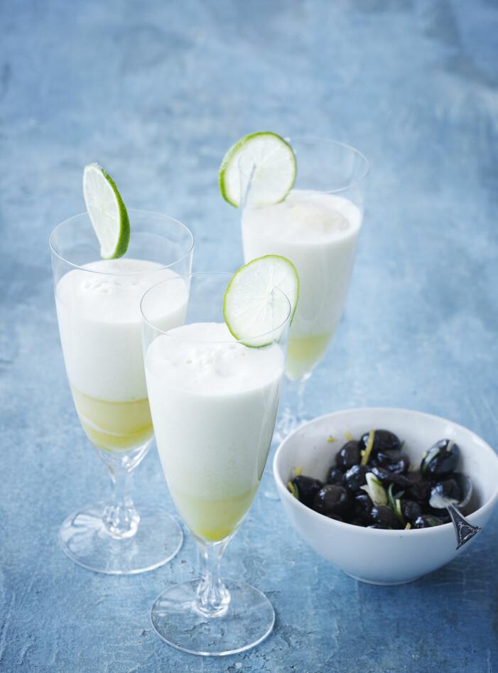 Recept på krämig äggtoddy med vanilj