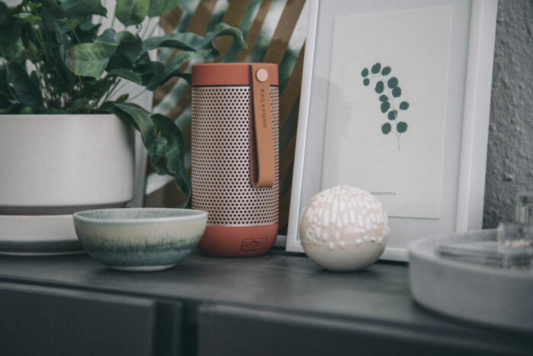 Snygg teknik och högtalare som en inredningsdetalj är stort i vår och sommar, enligt trendspaningen på Formex 2019.