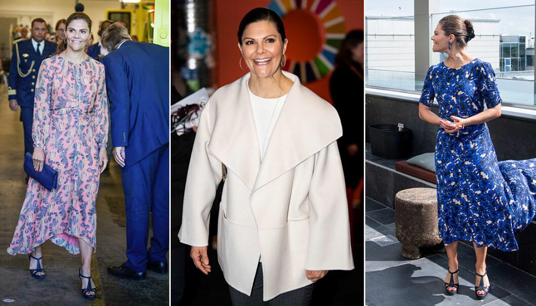 Kronprinsessan Victoria i svensk design 2020
