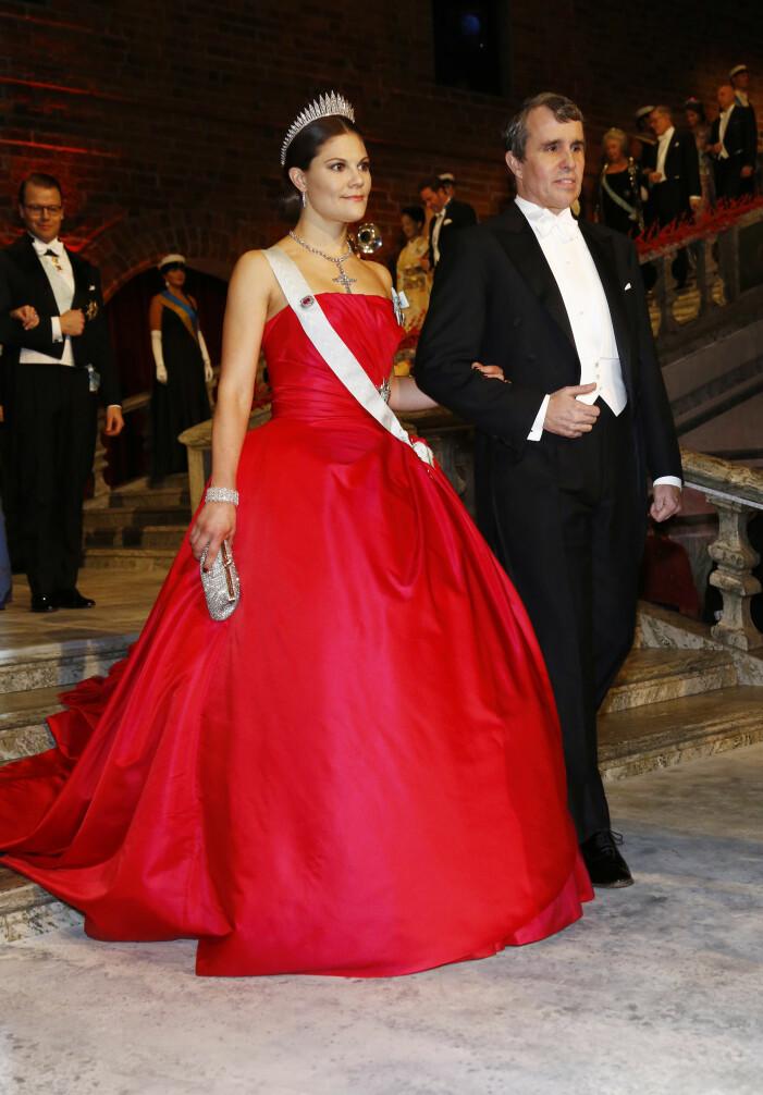 Kronprinsessan Victoria vid Nobel 2014