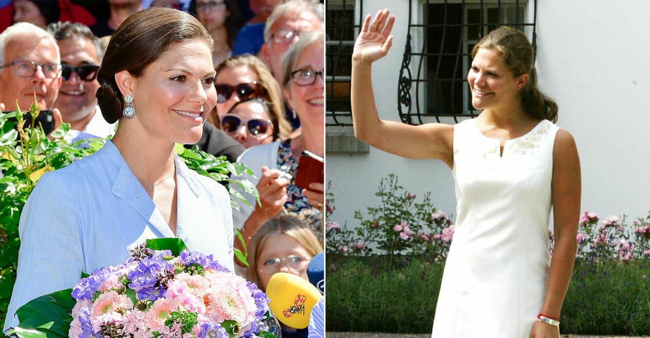 Kronprinsessan Victoria firar födelsedagen vid Solliden på Öland.