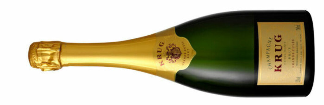 Krug – champagnens kung.