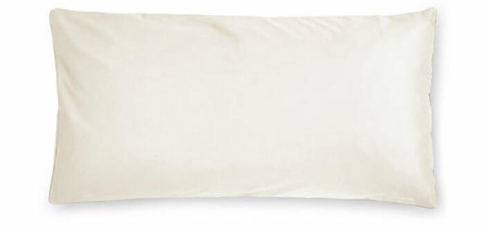 vit stor kudde bädda säng