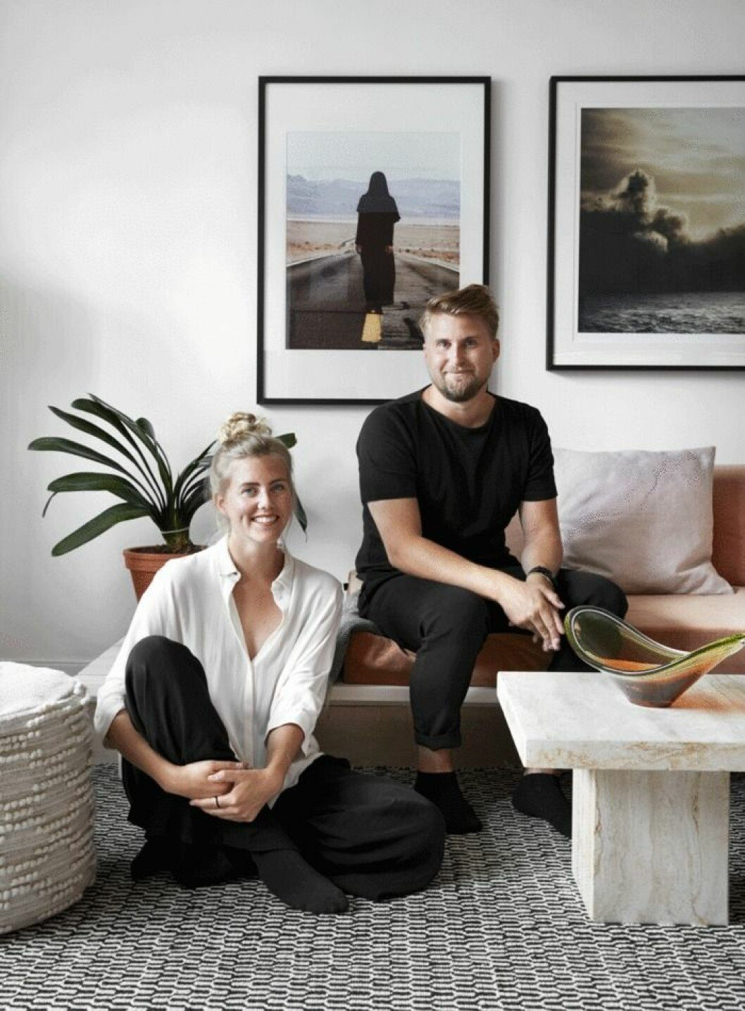 Produktformgivarna Stina och Mattias
