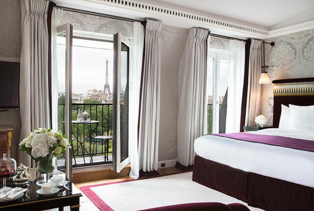 Instagram-vänligt hotell i Paris; La Reserve