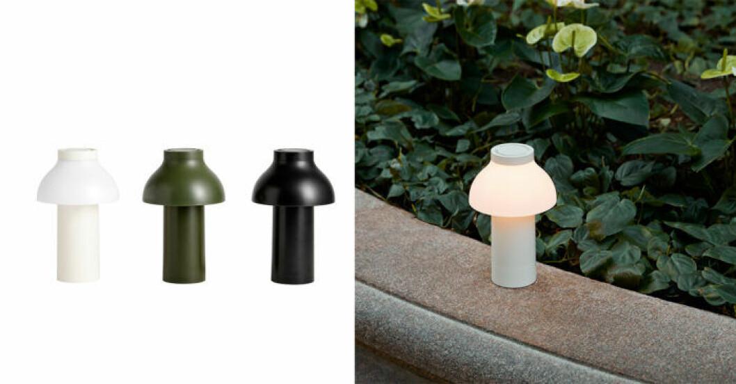 Lampa från HAY för utomhusbruk