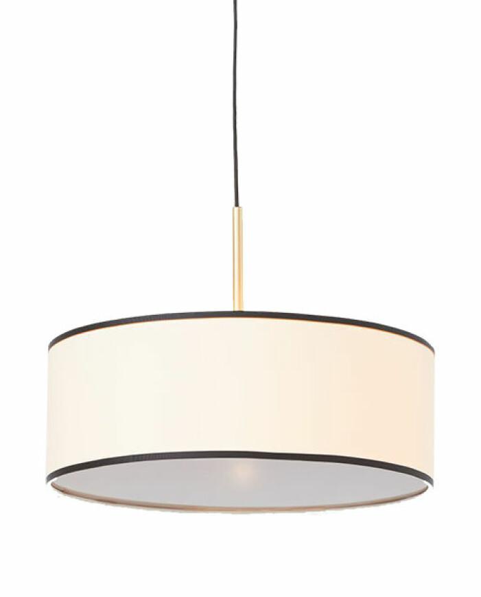 lampa i textil