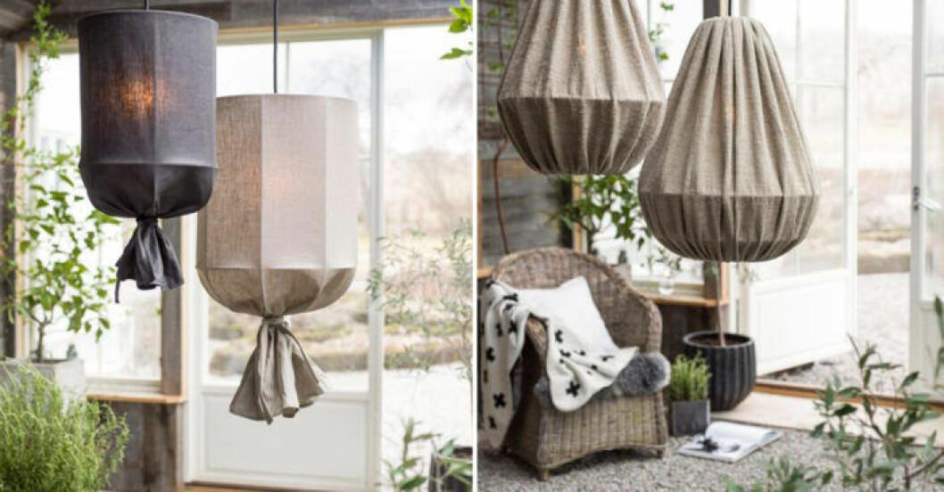 Lampa utomhus i linne från PR Home