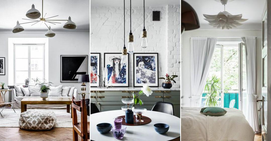 taklampor för dig som har lågt i tak
