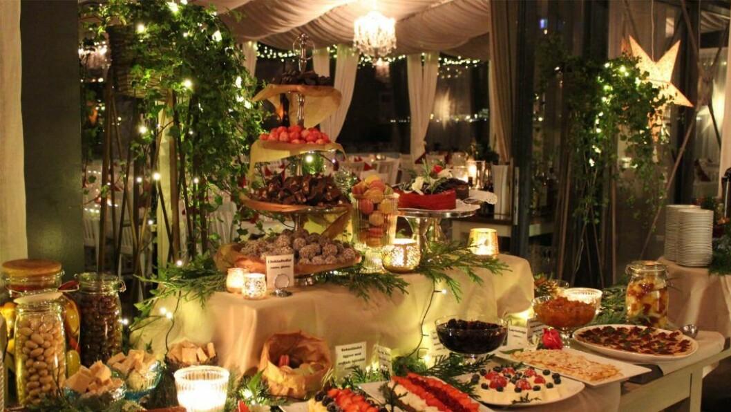 Julbord på Långedrag Värdshus i Göteborg.