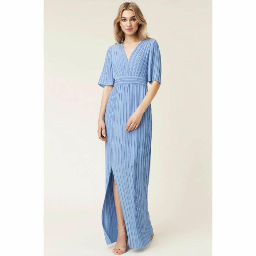 Blå långklänning från By Malina