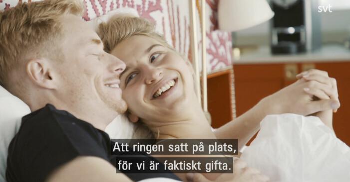 Lars och Elinor gift vid första ögonkastet