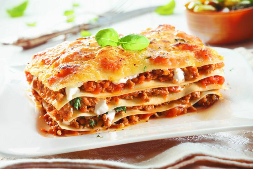 Lasagne.