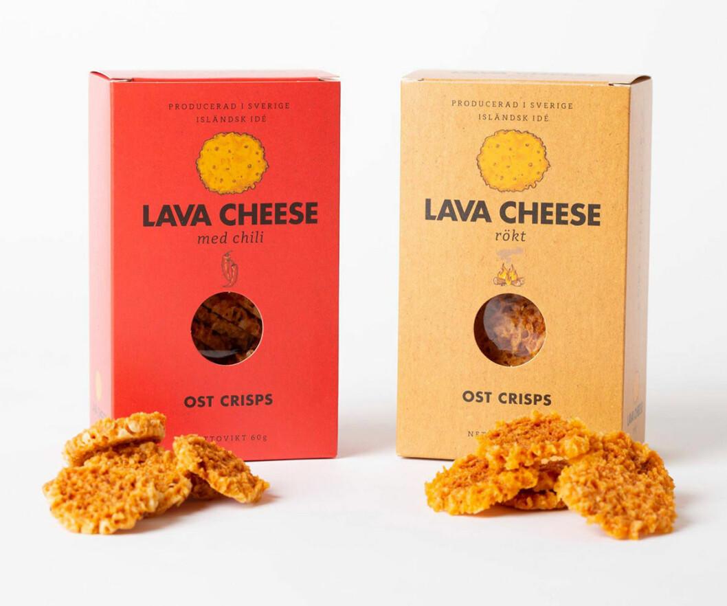 Lava Cheese finns i smakerna chili och rökt.