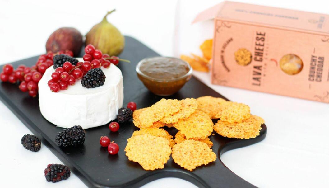 Lava Cheese passar perfekt på ostbrickan!