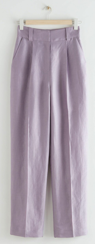 lila kostymbyxa från & Other stories.
