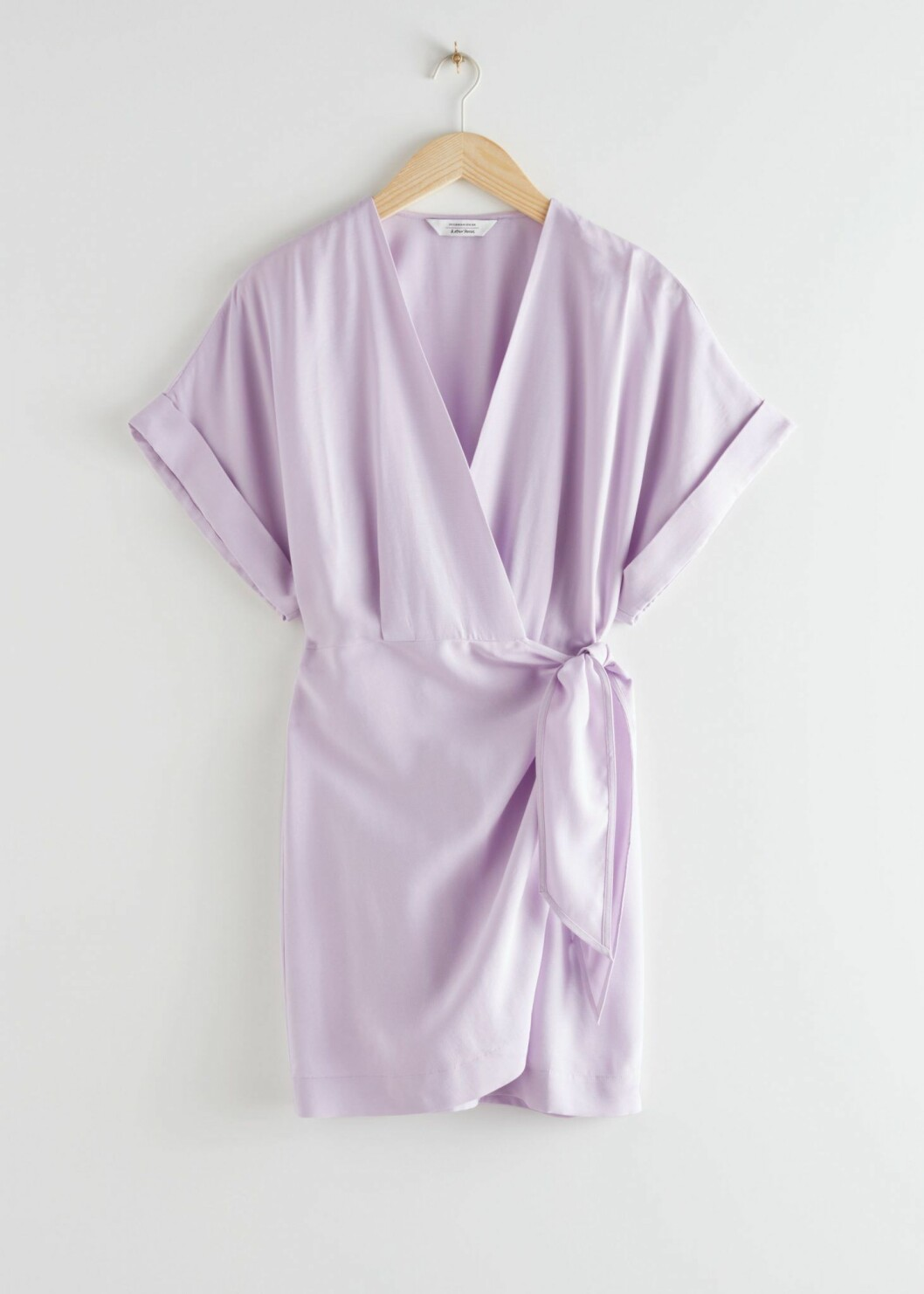 lila klänning från & Other stories.