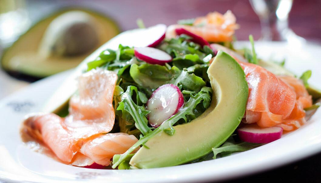 Fet fisk och grönsaker är bra för hjärnan.
