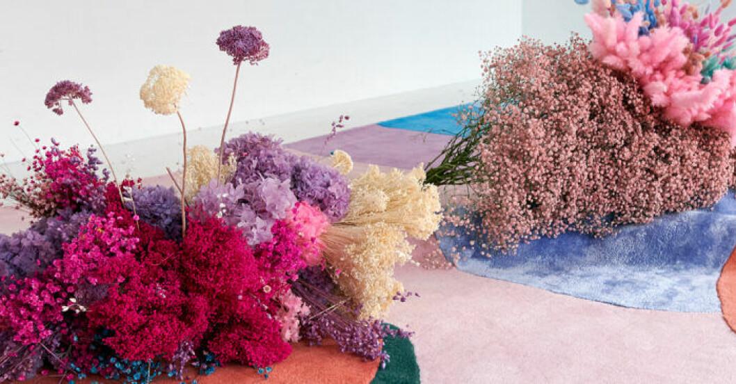 Poppykalas (Thilde Maria Haukohl) mattor för Layered vann Årets inredningsaccessoar på ELLE Deco Design Awards 2020