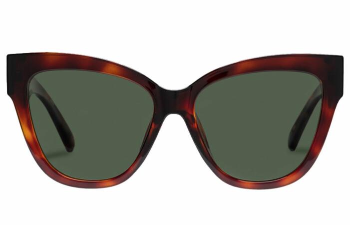 sköldpaddsmönstrade solglasögon