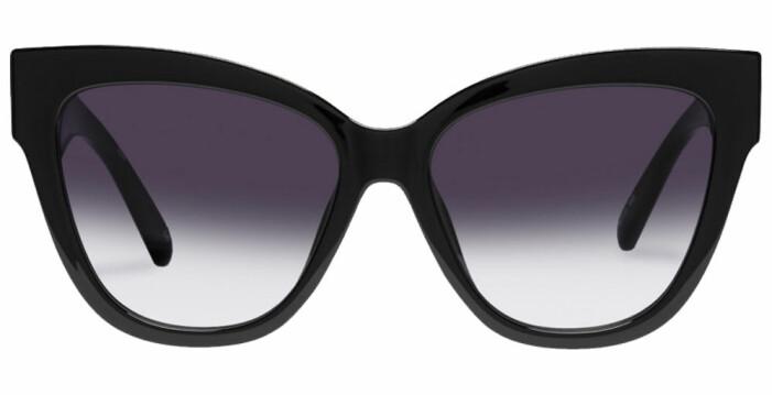 svarta solglasögon från le specs