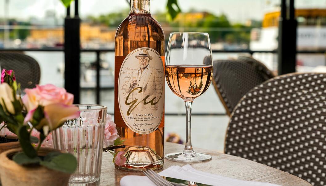 Leif GW Persson lanserar eget rosévin.