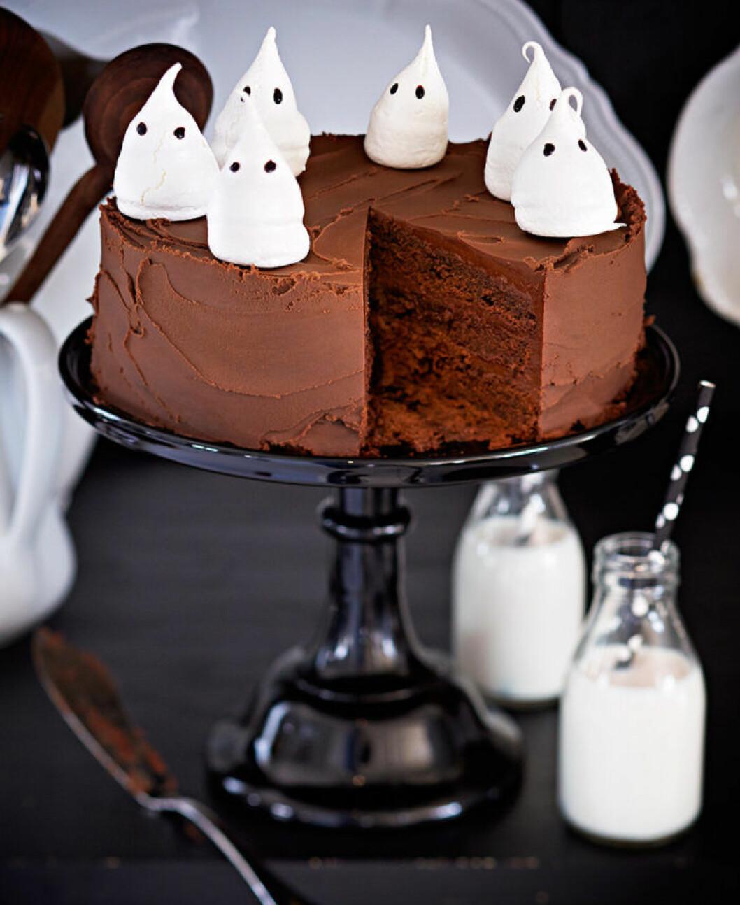 Monsterchokladtårta.