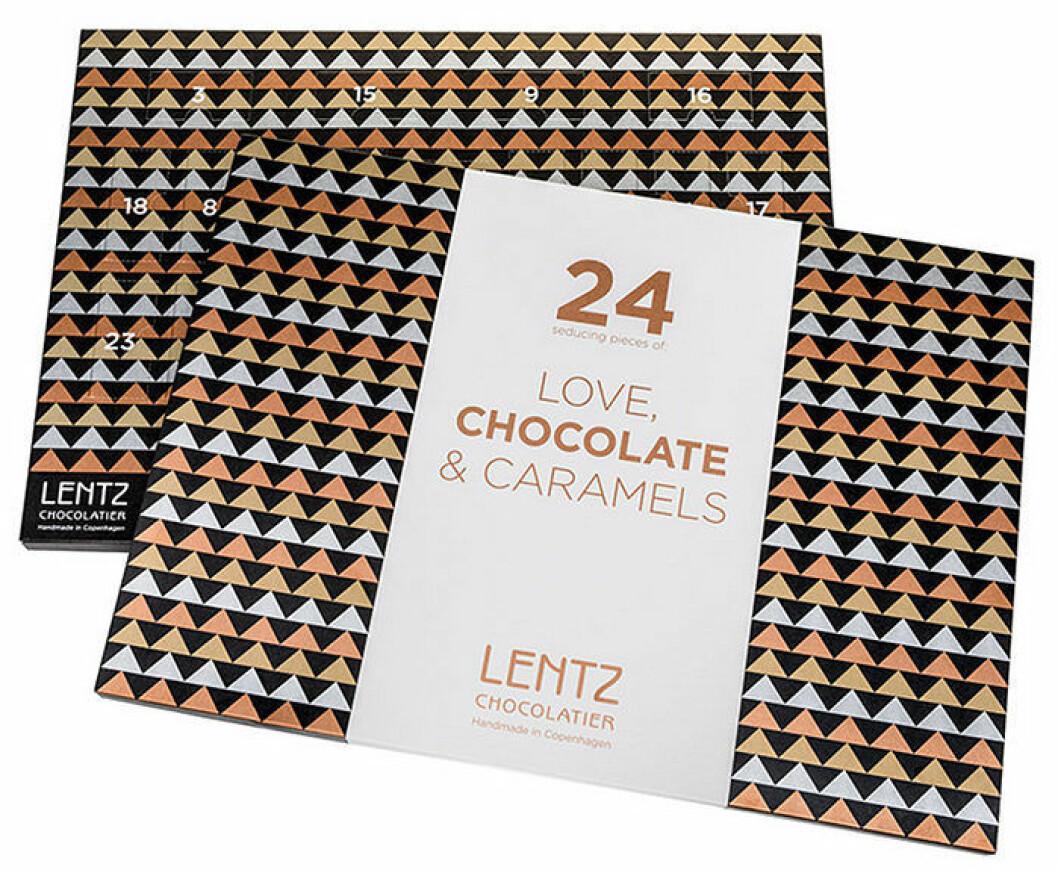 Choklad- och kolakalender från Lentz, 425 kr