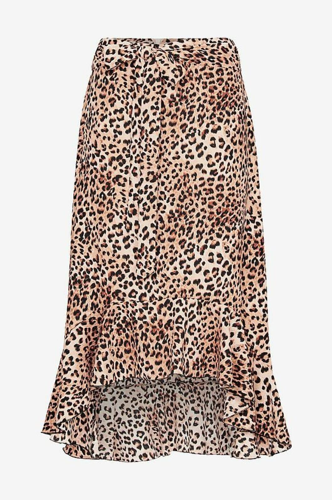 Leopardkjol i volangmodell