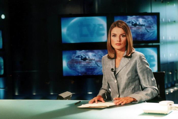 Letizia Ortiz Rocasolano som nyhetsuppläsare