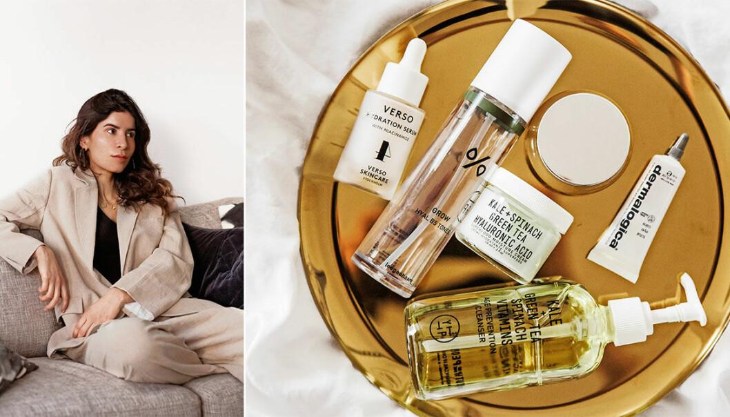 Beautyproffset och ELLE–bloggaren Leyla Aksoy delar med sig av sin skönhetsrutin