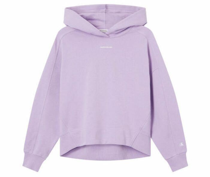 lila hoodie