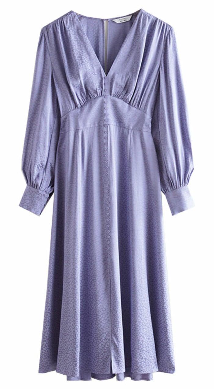 lila klänning från and other stories