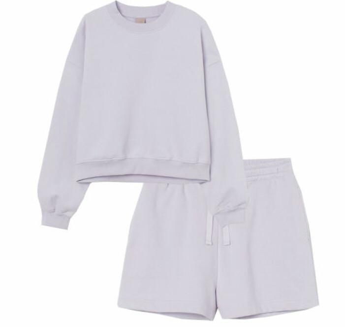 lila sweatshirt set dam