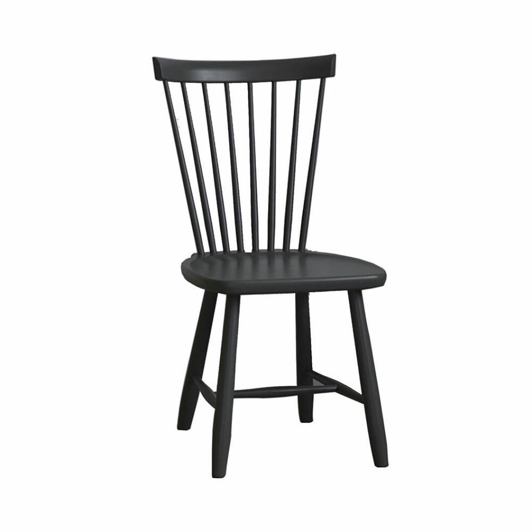 Carl Malmsten-stol Lilla Åland i svart