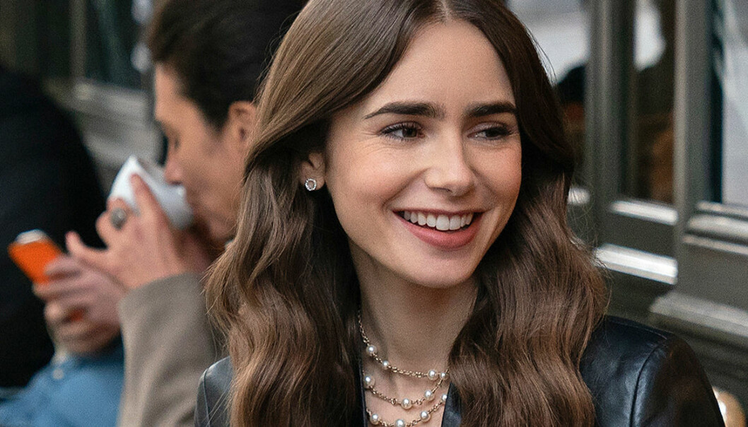 Lily Collins som Emily in Paris