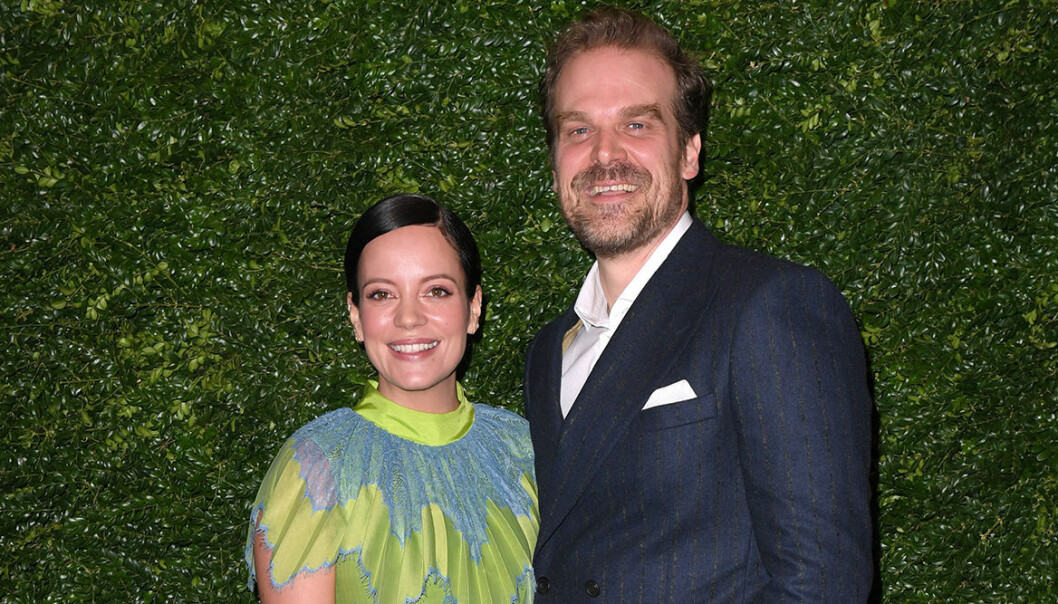 Lily Allen och David Harbour är redo för giftermål.