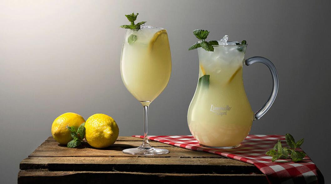 Capri di Tonic med limoncello.