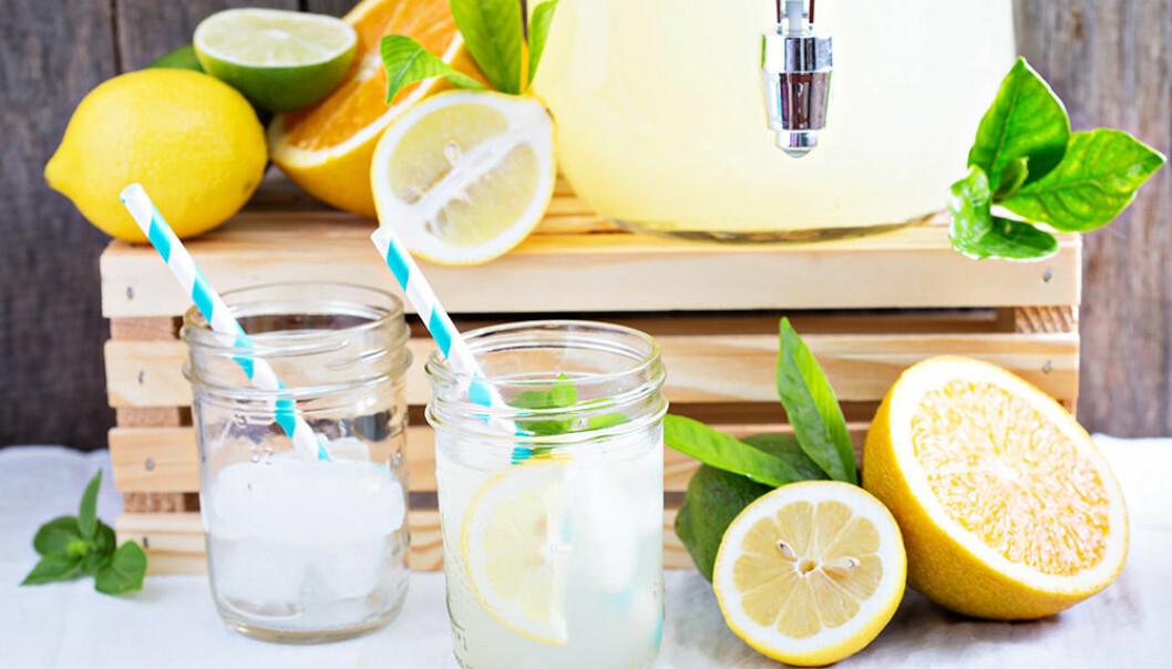 Blanda en frisk drink med limoncello!