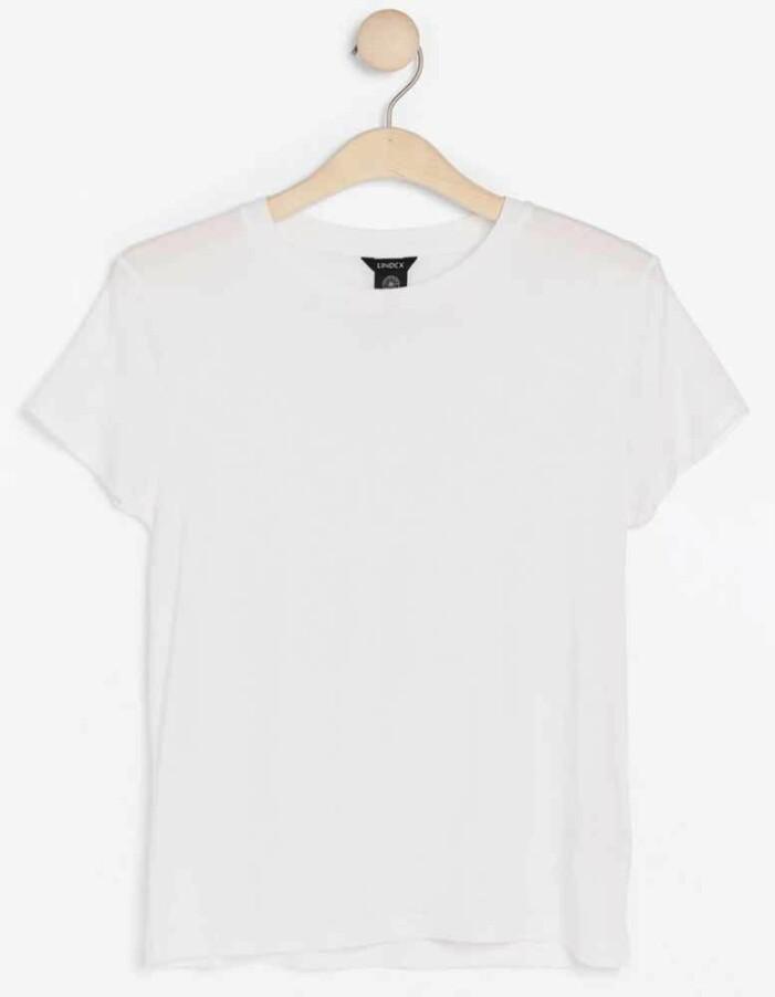vit tshirt från lindex