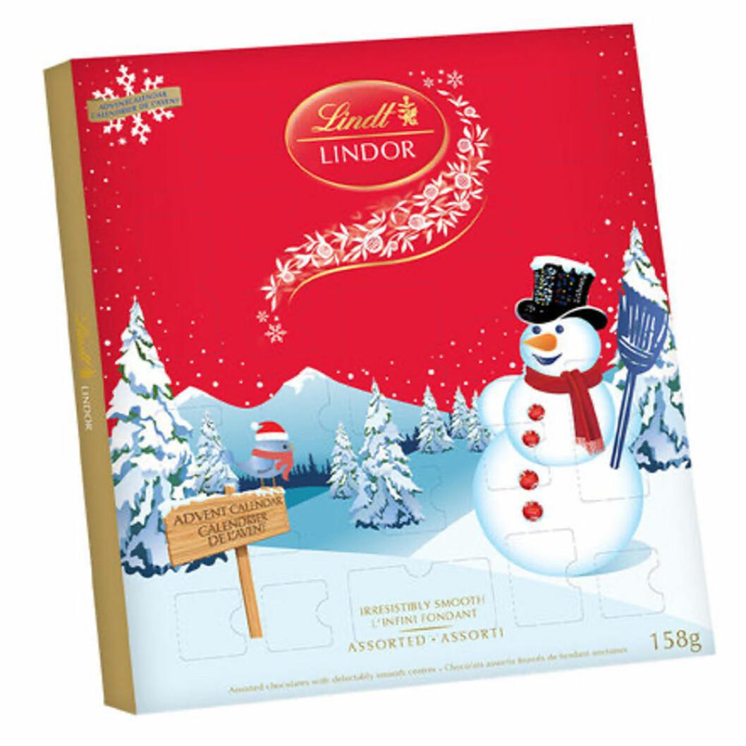 Chokladkalender från Lindt