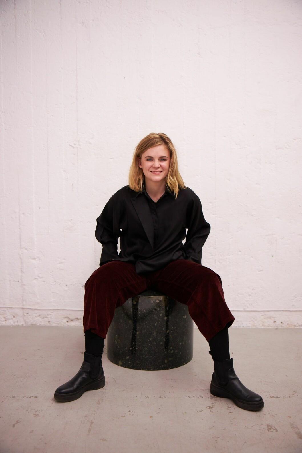 Linn Frisinger grundare av Swedish Stockings