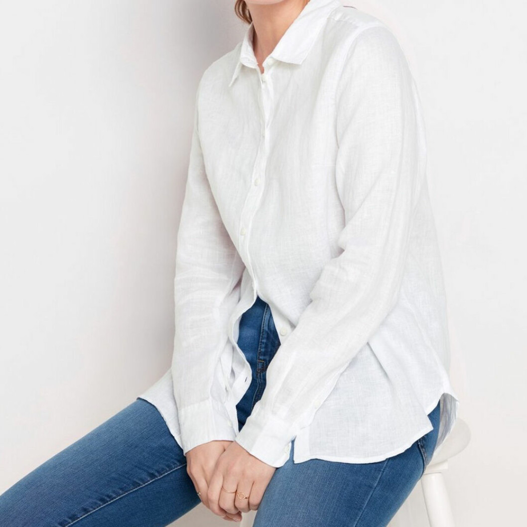 Klassisk linneskjorta från Lindex